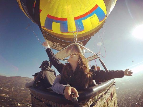 viajar en globo df