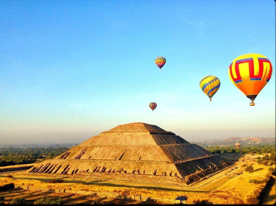 Vuelo Privado en Teotihuacán 7