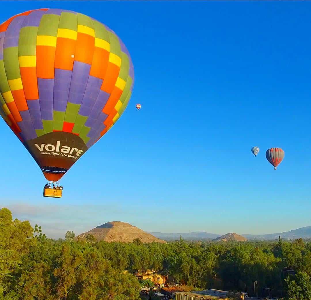 Vuelo de Cumpleaños en Teotihuacán 2