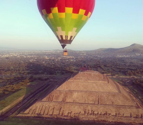 Vuelo Compartido en Teotihuacán 4