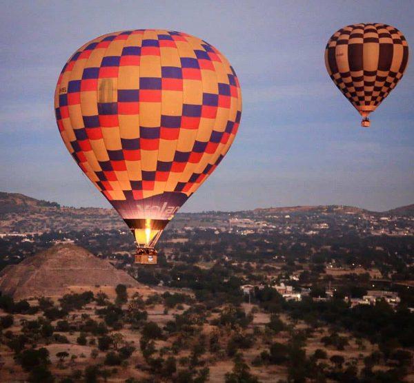 Vuelo Compartido en Teotihuacán 1