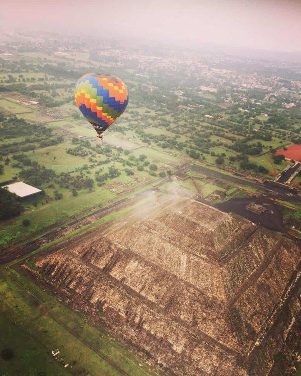 Vuelo Compartido en Teotihuacán 3