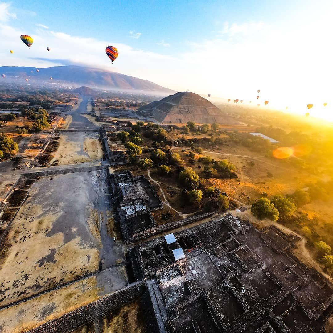 Vuelo Privado en Teotihuacán 3