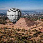 paseo en globo pirámides de Teotihuacán