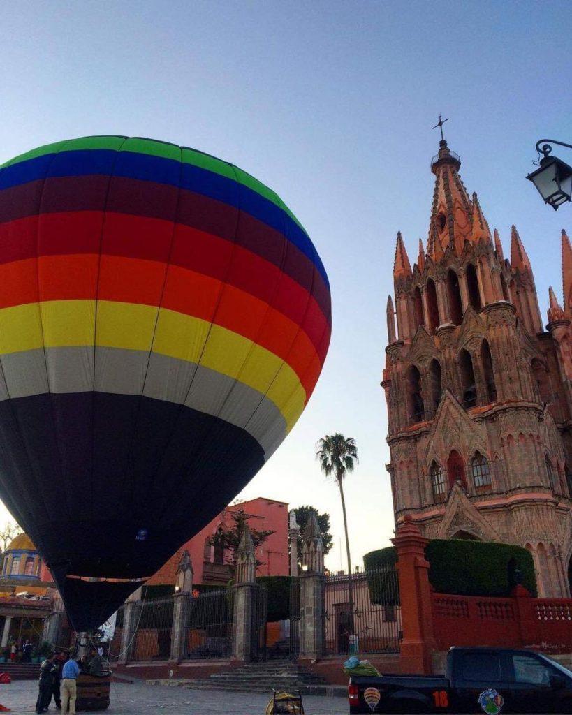 Paseos en globo San Miguel de Allende