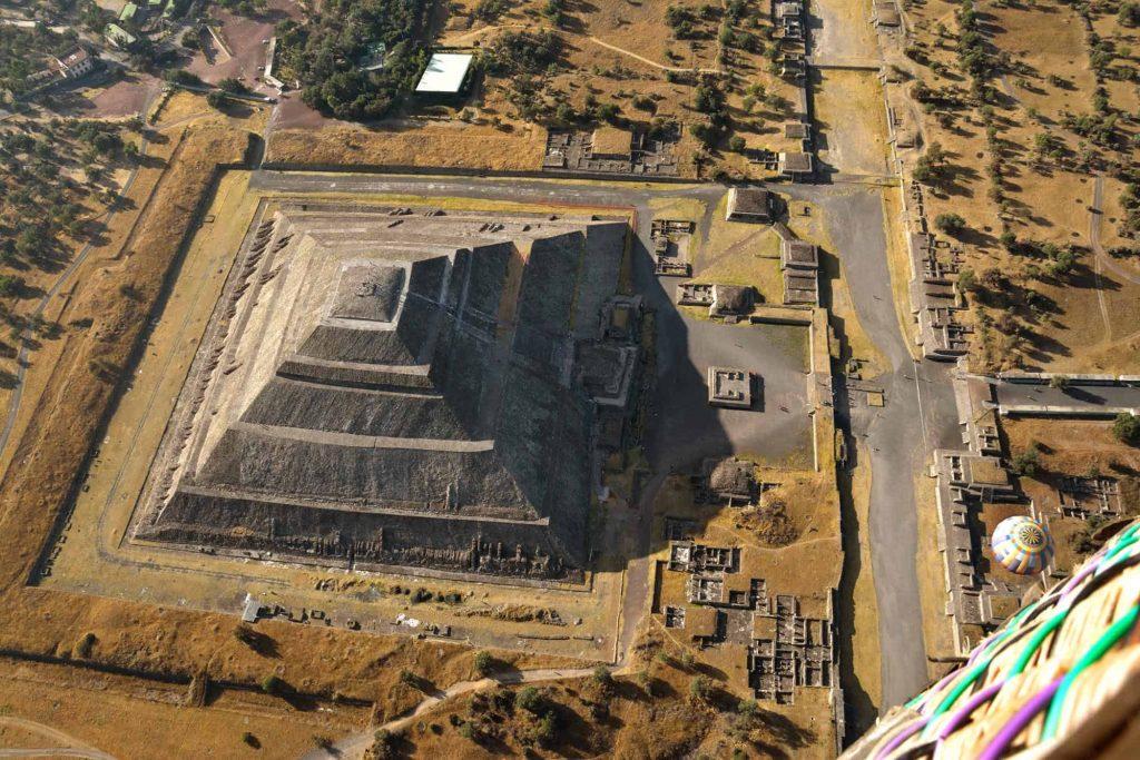 Teotihuacán globos